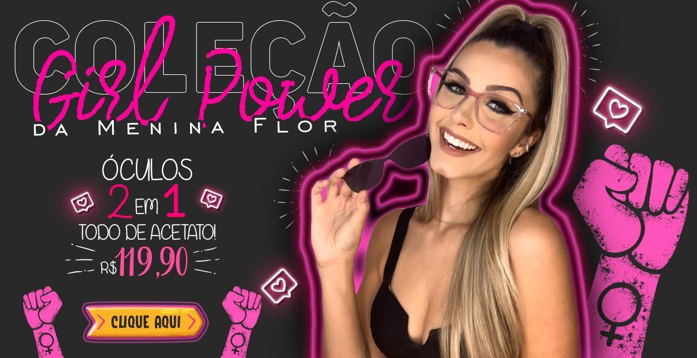 Coleção de óculos de grau feminino Girl Power