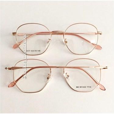 19741fd94c26e Armação de grau - Bela - Rose Gold - Óculos Menina Flor
