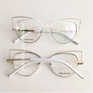 43666de4d Armação de grau - Branca de Neve - Branco - Óculos Menina Flor