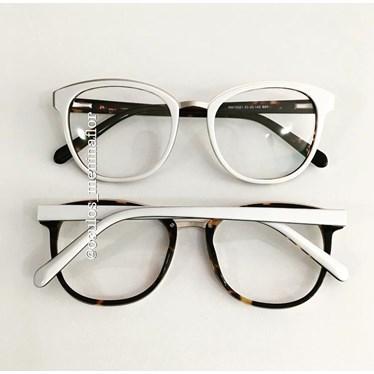 fa20c3e57 Armação de grau - Megan - Branco - Óculos Menina Flor