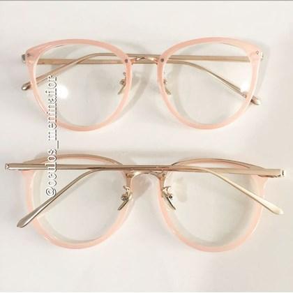 e1d0f0993 Armacao grau x807 | Óculos Menina Flor
