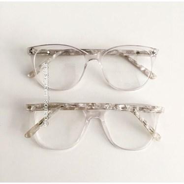 Armação de óculos de grau - Adrieli 15009 - Transparente