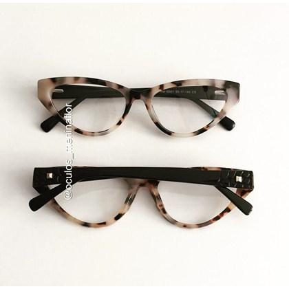 Armação de óculos de grau - Alexia - Animal Print