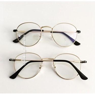 Armação de óculos de grau - Alice 2843 - Dourada