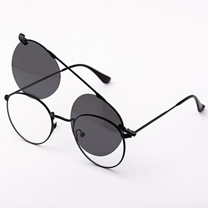 Armação de óculos de grau - Alice 66017 / Aro 47 - Preto