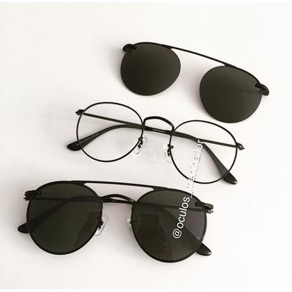 Armação de óculos de grau - Alice - Preto
