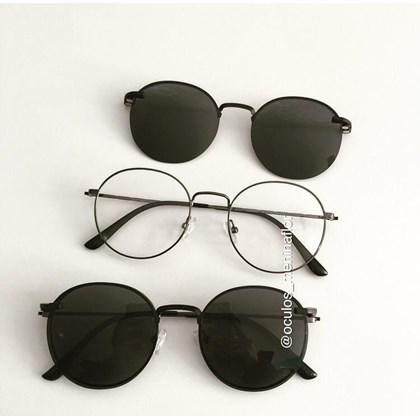 Armação de óculos de grau - Aloha - Gráfite