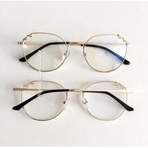 Armação de óculos de grau - Angel - Dourado