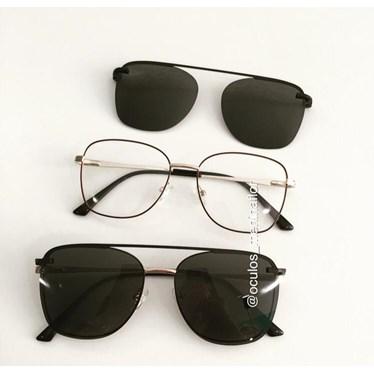 Armação de óculos de grau - Antonella - Vinho