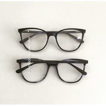 Armação de óculos de grau - Ariel BB5063 - Azul escuro