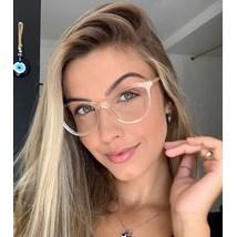 Armação de óculos de grau - Ariel Two - Dourado transparente