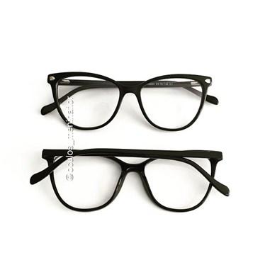 Armação de óculos de grau - Ariel Two - Preto
