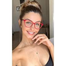 Armação de óculos de grau - Ariel - Vermelho