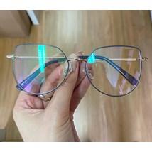 Armação de óculos de grau - Aurora 8012 - Azul candy C5