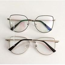 Armação de óculos de grau - Aurora 8012 - Preto com dourado C3