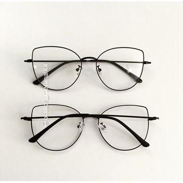Armação de óculos de grau - Aurora Deux - Preto