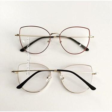 Armação de óculos de grau - Aurora Deux - Vinho