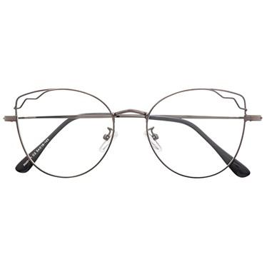 Armação de óculos de grau - Aurora - Grafite