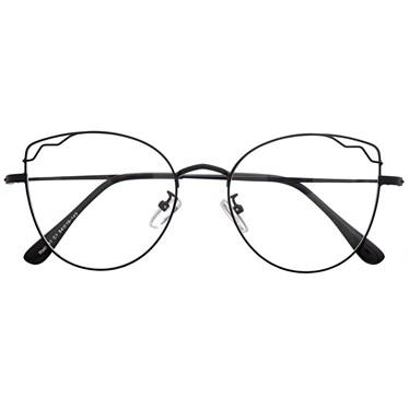 Armação de óculos de grau - Aurora - Preto