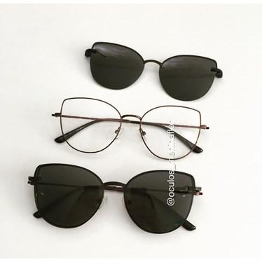 Armação de óculos de grau - Aurora Two - Bronze