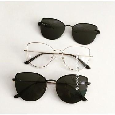 Armação de óculos de grau - Aurora Two - Dourado