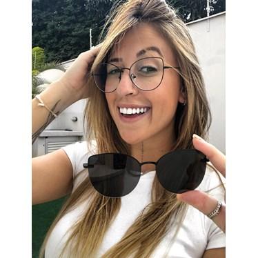 Armação de óculos de grau - Aurora Two - Preto