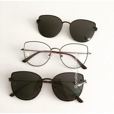 Armação de óculos de grau - Aurora Two - Vinho