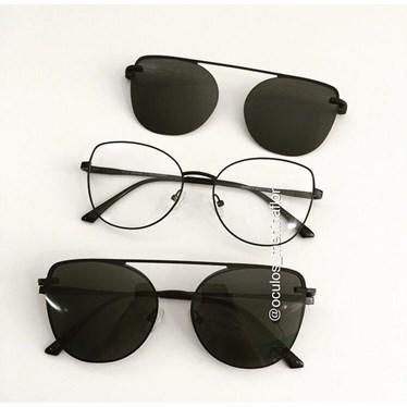 Armação de óculos de grau - Aurora versão 2.0 - Preto