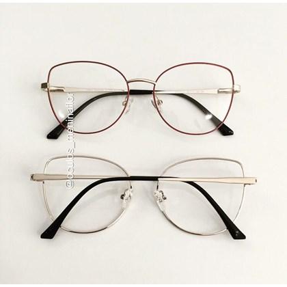 Armação de óculos de grau - Aurora versão 2.0 - Rosa goiaba