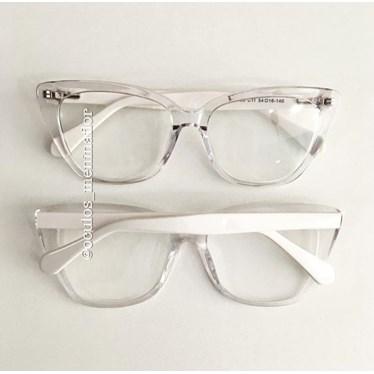 Armação de óculos de grau - BB2026 - Transparente