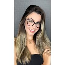 Armação de óculos de grau - Bebel 10074 - Preto