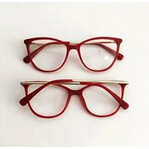 Armação de óculos de grau - Bebel 10074 - Vermelho