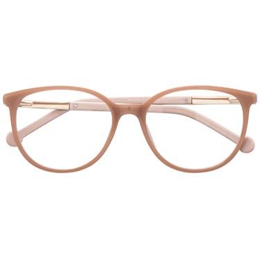 Armação de óculos de grau - Bee 10069 - Nude Candy Claro