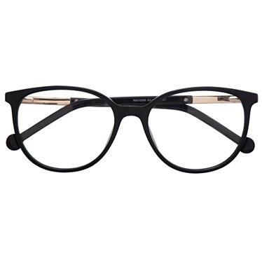 Armação de óculos de grau - Bee 10069 - Preto C1