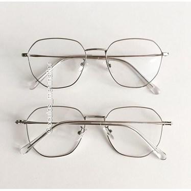 Armação de óculos de grau - Bela II - Prata
