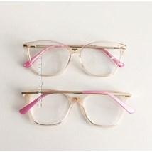 Armação de óculos de grau - Belli 2.0 - Rose transparência