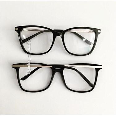 Armação de óculos de grau - Belli Quadradinha - Preto