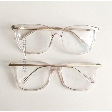 Armação de óculos de grau - Belli Quadradinha - Transparente