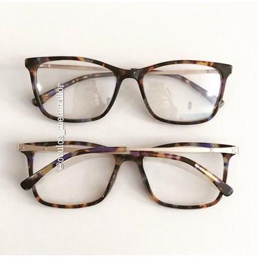 Armação de óculos de grau - Betty - Animal print color