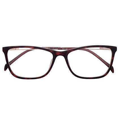 Armação de óculos de grau - Bianca fit - Animal print escuro