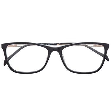 Armação de óculos de grau - Bianca fit - Preto