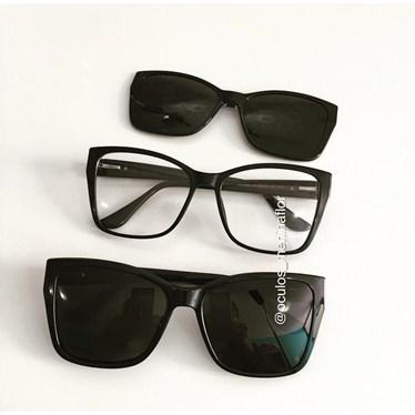 Armação de óculos de grau - Cady 8029 - Preto C1