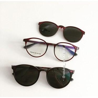 Armação de óculos de grau - Califórnia 8218 - Bordo  C4