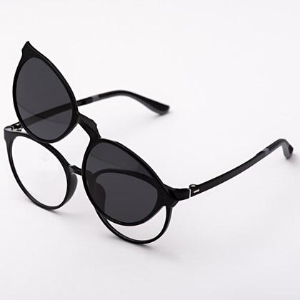 Armação de óculos de grau - Califórnia 8218 - Preto C1