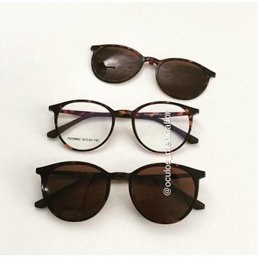 Armação de óculos de grau - Califórnia 982 - Animal print