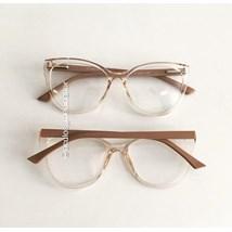 Armação de óculos de grau - Camilly 1151 - Dourado transparente
