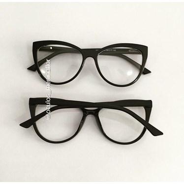 Armação de óculos de grau - Camilly 1151 - Preto