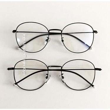 Armação de óculos de grau - Candy Pérola - Preto