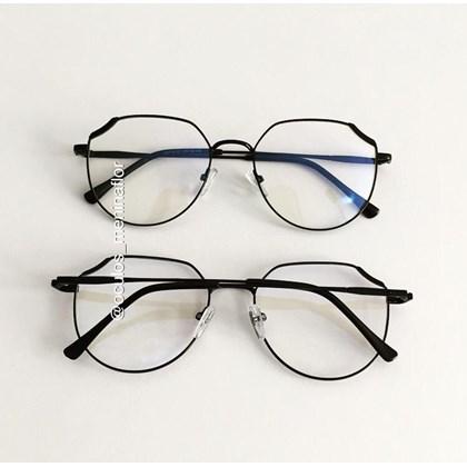 Armação de óculos de grau - Carol 9716 - Preto