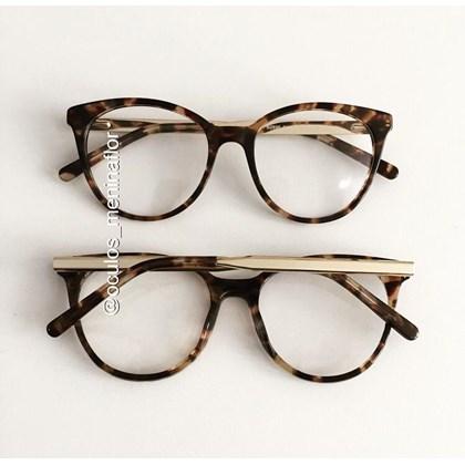 Armação de óculos de grau - Celina two - Animal print
